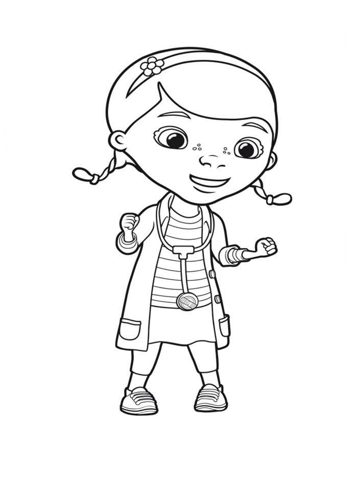 desenhos para colorir doutora brinquedos