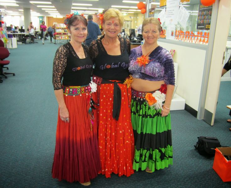 Gypsy dancers at Wetherill Park TAFE Library for Harmony Day! #TAFESWSiLibraries