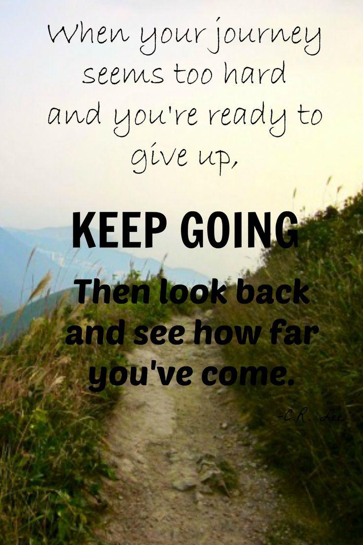 Keep Going: