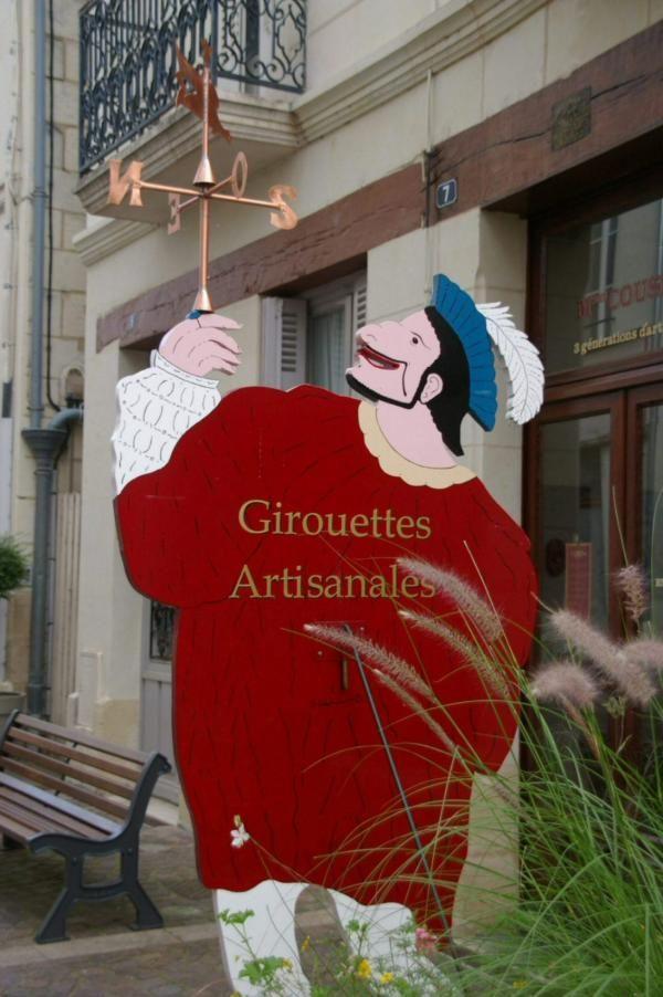 Fabricant de girouettes, Chinon, Indre et Loire (37)