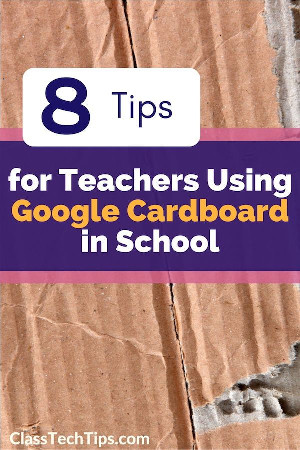 I wanted to share eight tips for teachers who are using Google Cardboard in…