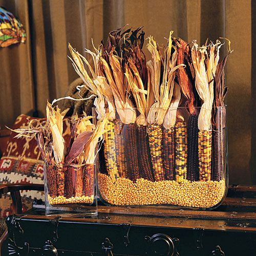 Dried Corn Fall Arrangement - Southern Living