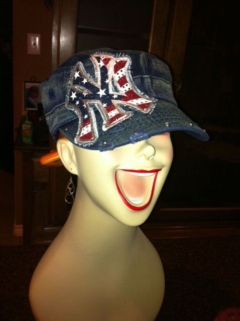 NEW New York Yankees cadet cap in Distressed by NicolesBlingThing $30.00 & 61 best New York Yankees (Must Haves) images on Pinterest | New ... islam-shia.org