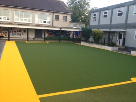 School Playground - Synthetic safe play surface