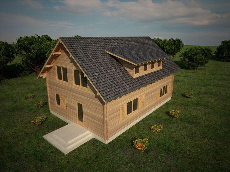 Houtskeletbouw Woning Gherla | Houten huis bouwen