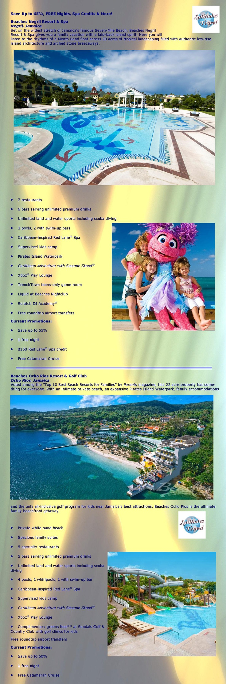 Book between 10/05/12 - 12/05/12 and Save up to 65%, get FREE Nights, Spa Credits & More   Please Contact Latitudes Travel (414) 433-4873 or (855) 433-4870 for details.  www.LatitudesWI.com  #beaches #all-inclusive #resort #vacations #sandals   Added values based on availability, room category, dates. Other restrictions may apply and are subject to change. diving included for certified divers. Cancellation penalties, payment requirements and holiday/weekend/special event surcharges may…
