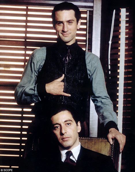 The Godfather, Part 2...Pacino was great, but I'm all about De Niro. He is so genius.