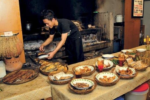 Nasi Bancakan, Bandung - Sundanese Food