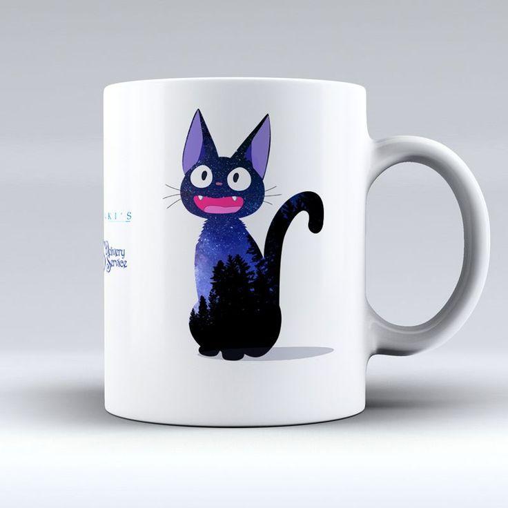 Miyazaki Küçük Cadı Kiki - Kedi Jiji Baskılı Kupa Zet.com'da 29.90 TL
