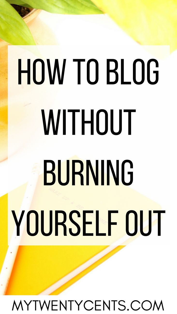 I love blogging but it was seriously ruining my life! Here is what I did to turn it around!