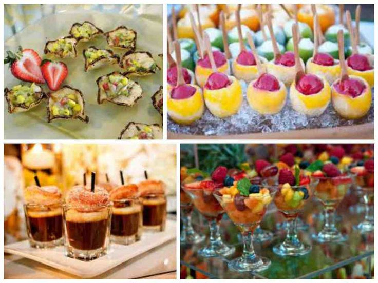 Wedding Cocktail Hour Food Ideas