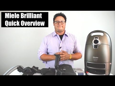 Miele Brilliant Vacuum Review - Quick Overview - YouTube