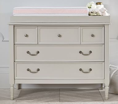 Blythe Dresser U0026 Changing Table Topper, Simply White