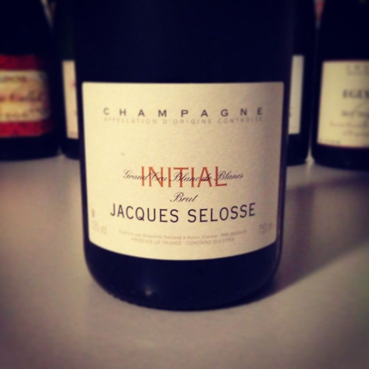 Blog vin - Jacques selosse - Champagne - initial