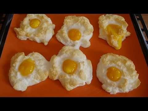 Wer will seine Liebsten zum Frühstück überraschen? Die fluffigen Wolken-Eier …