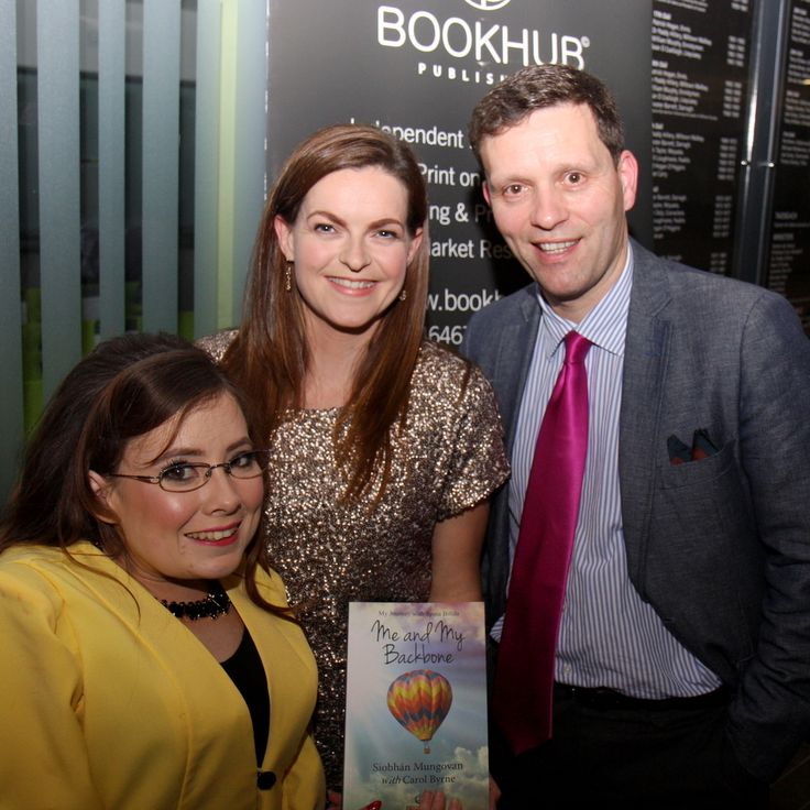 Authors Siobhan Mungovan and Carol Byrne with Author and MD at Book Hub Publishing, Dr. Niall McElwee.