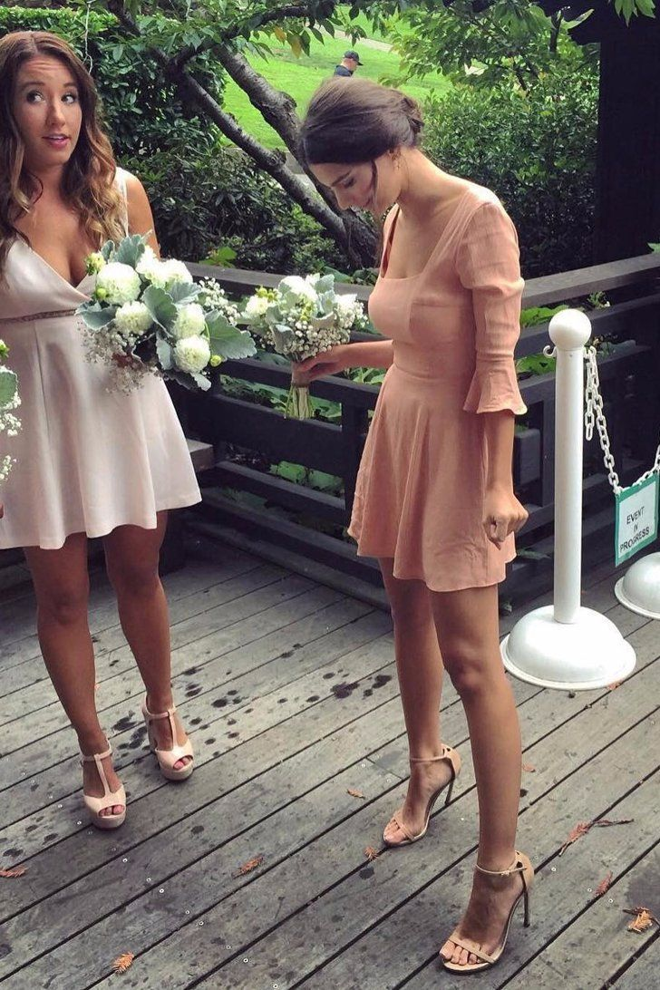 Emily Ratajkowski's Bridesmaid Dress Is About to Become Your Favorite Fall Silhouette