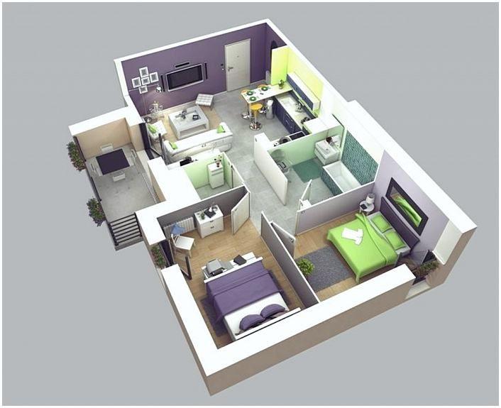 Two Bedroom House Plans In Kenya