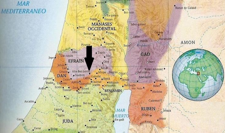 geografia biblica cristiana