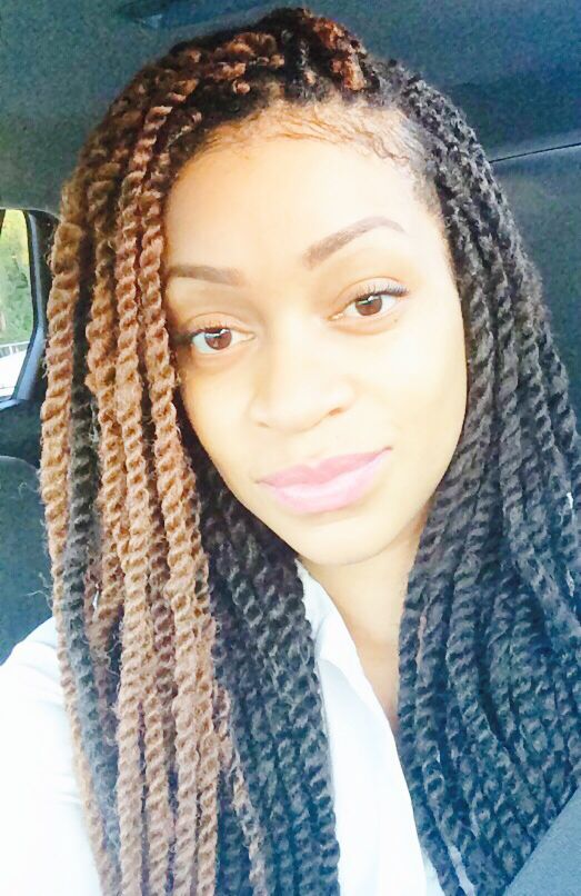 Colored marley twists | BraidTwist It Up | Pinterest ...