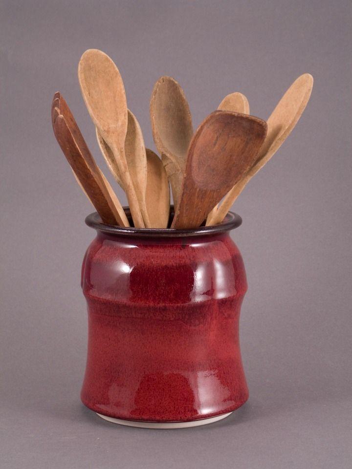 23 best images about red utensil holders on pinterest flatware french vintage and utensil holder - Unique kitchen utensil holder ...