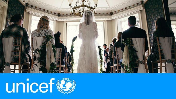 Una boda de cuento, salvo por un detalle | UNICEF