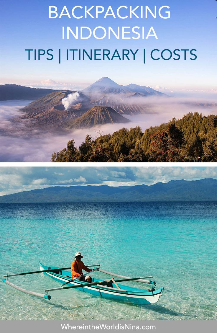 A Guide to Backpacking Indonesia: Itinerary, Costs + Tips