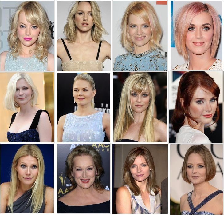 Hair Color for Cool Skin Tones – Best Chart for Blonde ...