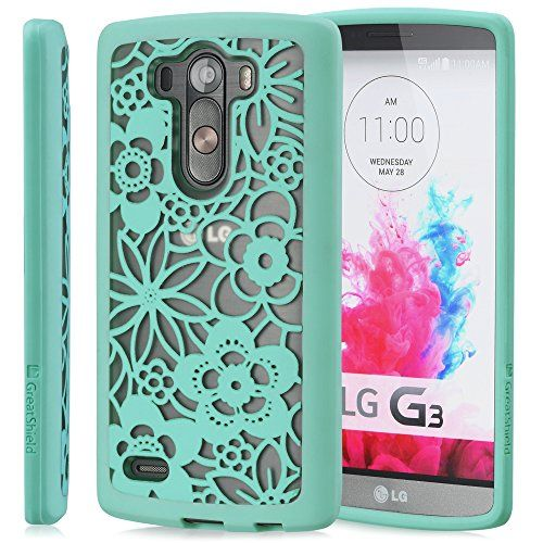 GreatShield LG G3 Case [TACT ARMOR] Shock Absorbent Slim Hybrid Design Pattern Cover for LG G3 (Flora - Teal) GreatShield http://www.amazon.com/dp/B00NETKSZQ/ref=cm_sw_r_pi_dp_rtBuub1NXW8DE