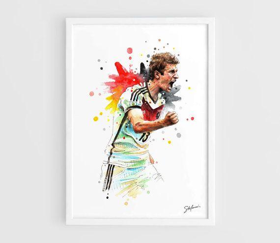 Thomas Muller Germany national football team FIFA by NazarArt