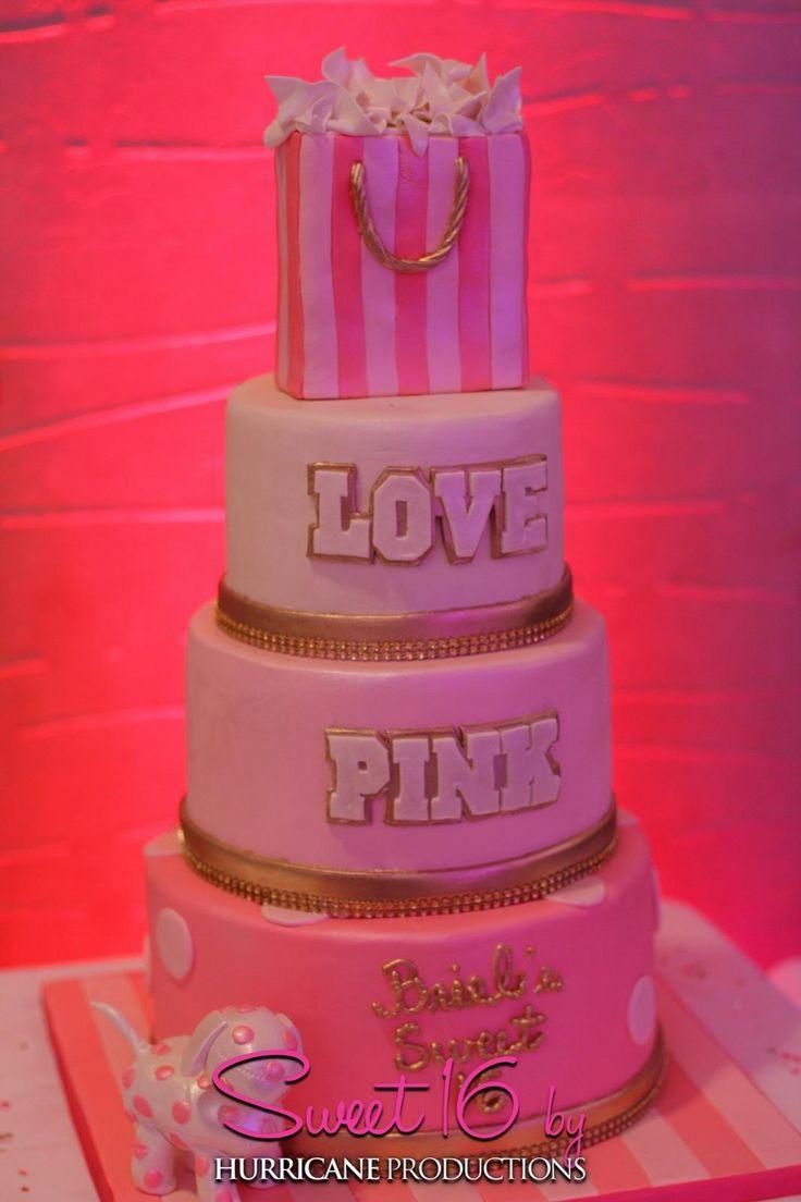 Sweet 16 Victoria S Secret Pink Party Ideas Briel S