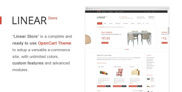 See More Linear Store – Premium OpenCart ThemeIn our offer link above you will see
