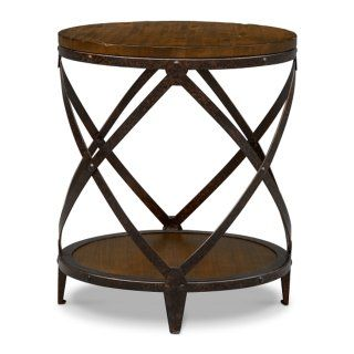 Shortline Round End Table | American Signature Furniture