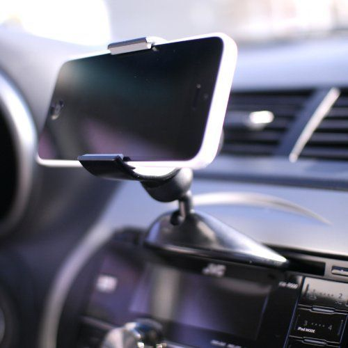 Amazon.com: Koomus CD-Eco Universal CD Slot Smartphone Car Mount Holder for all iPhones and Android Devices: Cell Phones & Accessories