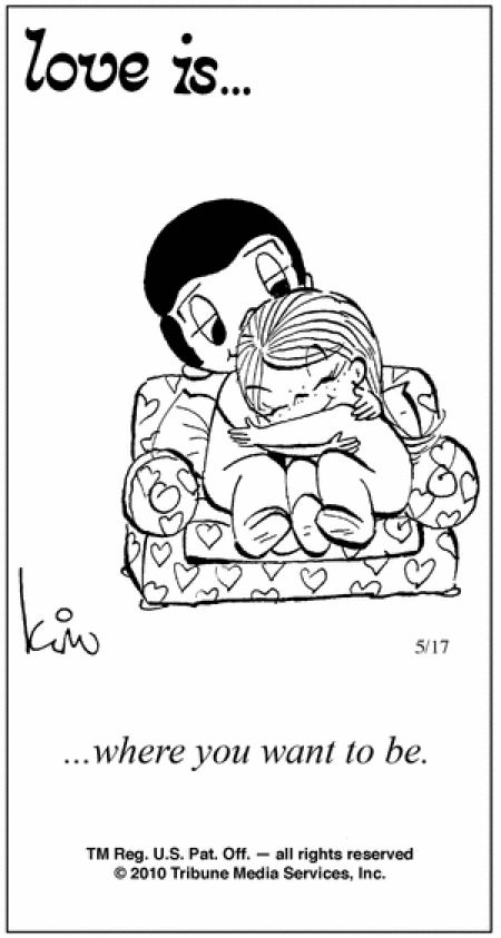 love is cartoon | 44 Amazing 'Love Is' Comics by Kim Grove | the perfect line