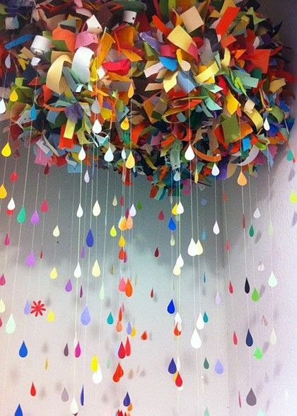 Color Cloud installation by Bonnie Gammill