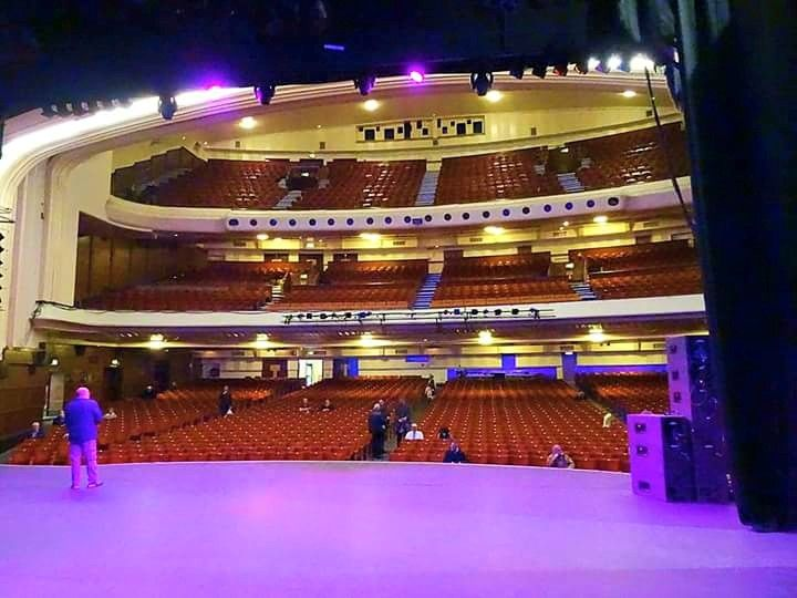 Blackpool Opera House From The Stage Webster Booth Anne