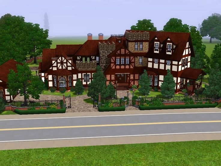 45 best images about sims 3 castle ideas on pinterest for Classic house sims 3