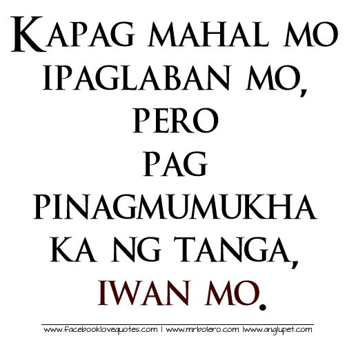127 Best Tagalog Love Quotes Images On Pinterest