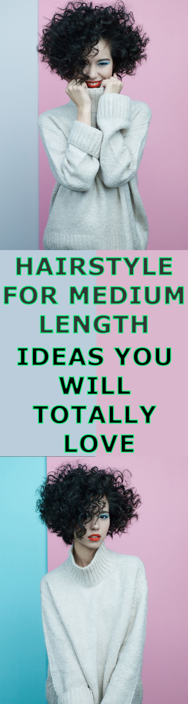 Hairstyle For Medium Length