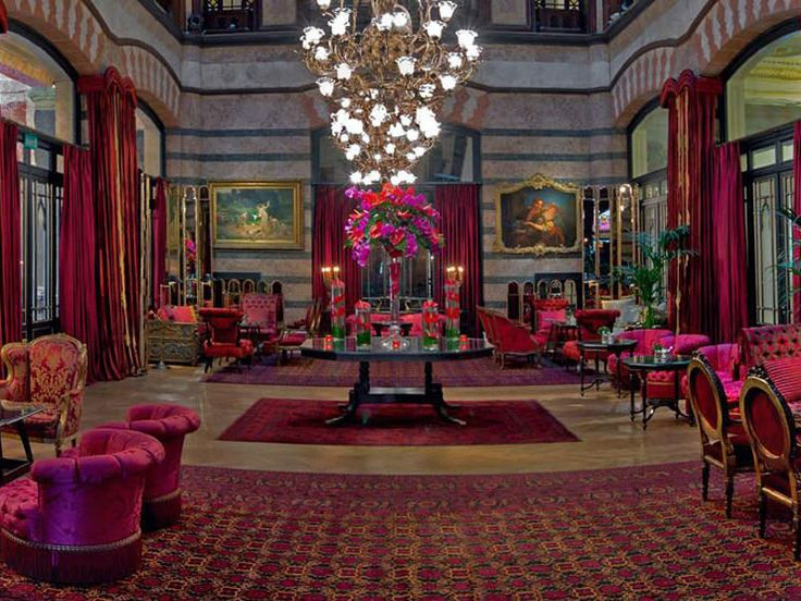 "Opened in 1895, Pera Palace Hotel advertises itself a ""museum-hotel,"" with one room serving as a mini-museum in honor of the country's first president, Mustafa Kemal Atatürk. Between the lush scarlet velvet chairs and the five suites inspired by famous former guest Ernest Hemingway, you will definitely get a whiff of history here."