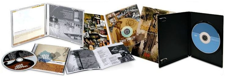 Fabricación de soportes: CDs, DVDs y Blu-ray