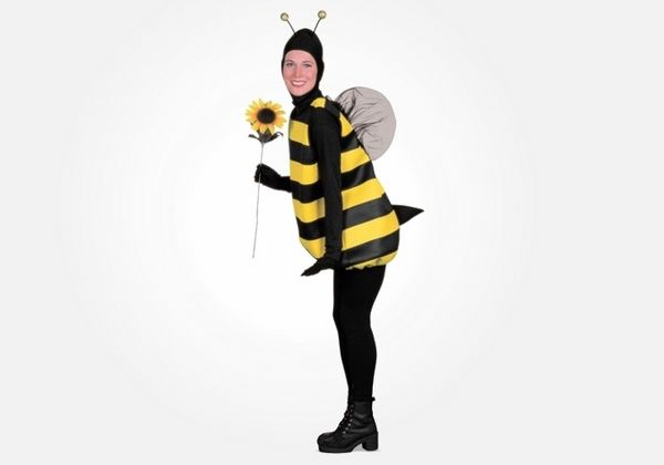 awesome halloween costumes for pregnant women Bumble Bee costume
