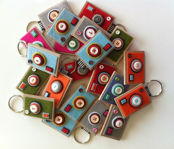 The ECO BOXY  Camera Keychain (Your choice)
