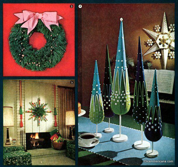 Retro Christmas Decor You Can Make (1964