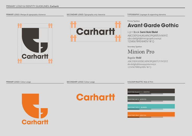 Logo re-design for Carhartt Europe