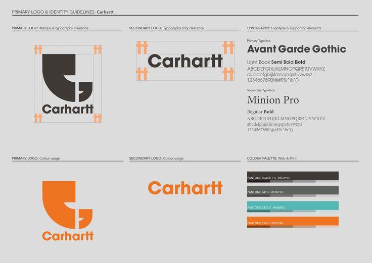 Logo re-design for Carhartt Europe