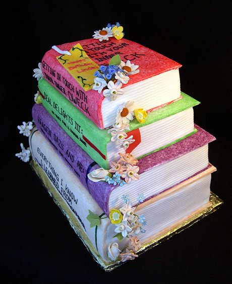 Book  Cake. ~ outstanding!