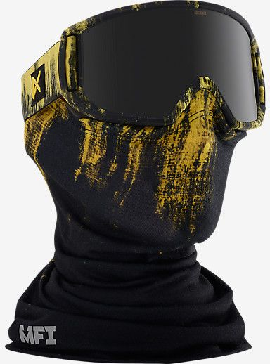 anon. Relapse MFI Goggle shown in Frame: Grunge, Lens: Dark Smoke