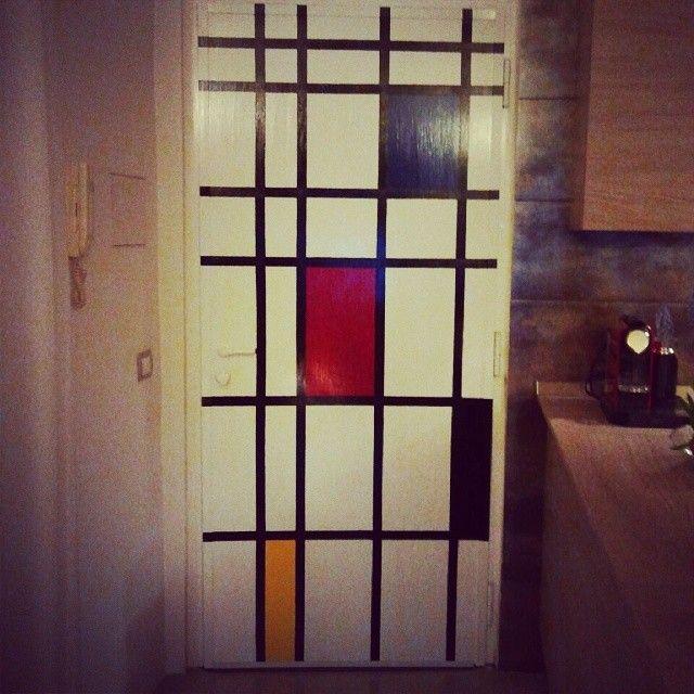 Arte e Casa #mondrian #arte #design #homedecor #portablindata #homecarlá #designideas  #designinterior